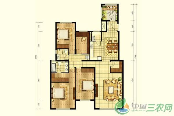 2016年6款超漂亮新农村小别墅设计建设造型图