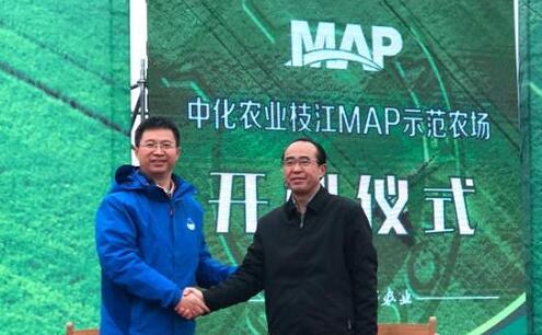 中化农业携手湖北枝江MAP示范项目启动