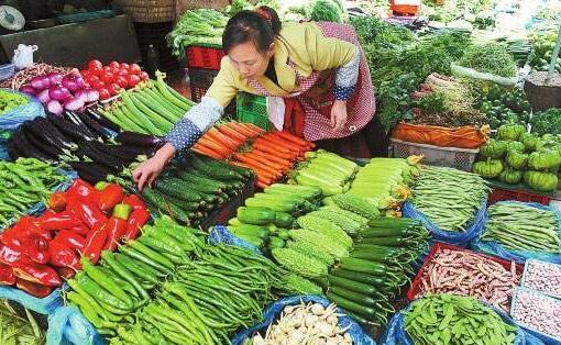 西安近日天气晴好   蔬菜供应充足价格下降