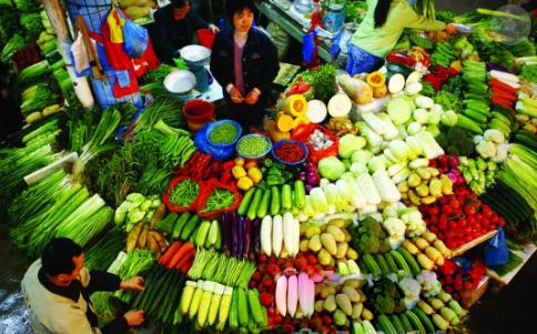 开封近期蔬菜价格1降2升4平