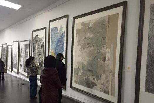 190件中国画作品太原展出 弘扬佛教文化艺术