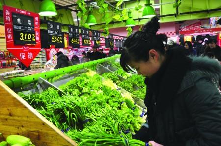 大雪至 江苏蔬菜价格普遍抬头