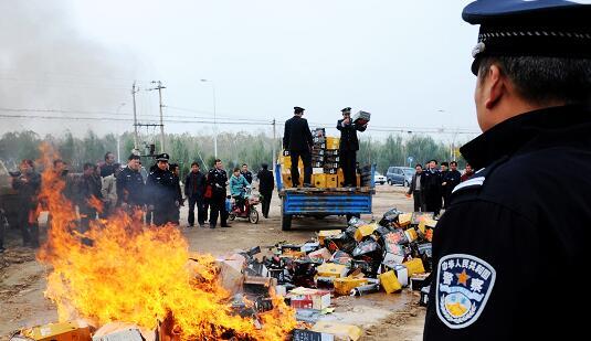确保菜篮子安全 天津去年销毁伪劣农药31.3吨