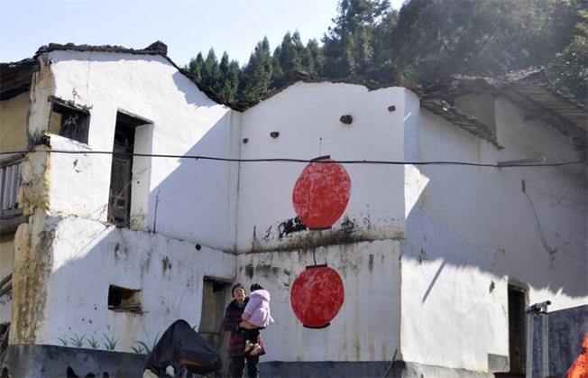 永春县多彩墙画扮靓村居 偏远山乡建成美丽乡村精品村
