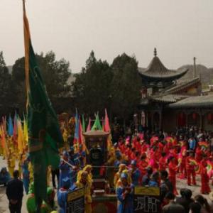 甘肃千年青城古镇挖掘传统民俗文化提升旅游形象