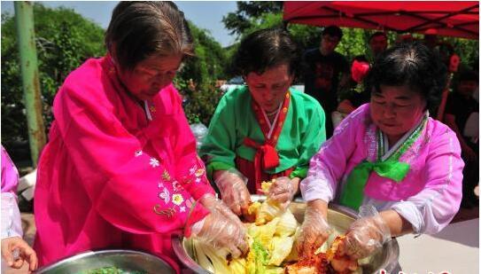 沈阳首届朝鲜族插秧节启幕 特色表演和美食受关注