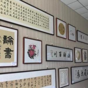 """山西屯留24位书画家义卖作品60余幅 圆贫困学子""""大学梦"""""""
