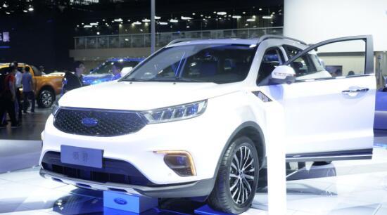 广州车展荣耀开启 全新SUV福特领界Territory强势来袭