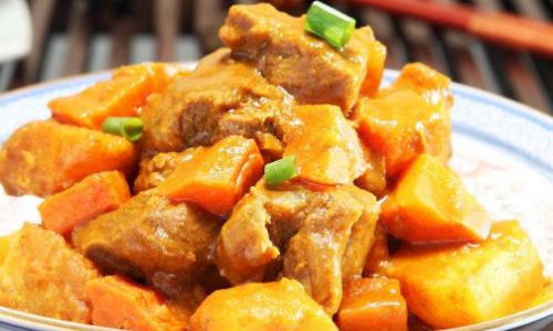 咖喱牛肉怎么做