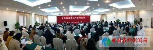 陕西的乡党注意了,设施蔬菜生产技术培训班在杨凌开班啦!