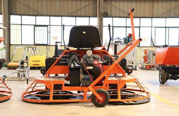 座驾式磨光机的特点和厂家报价-施安机械制造