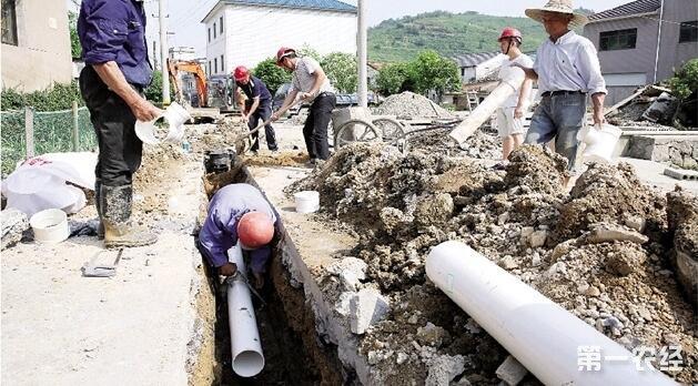 我国河北省把四千个农村污水排除将在今年完成